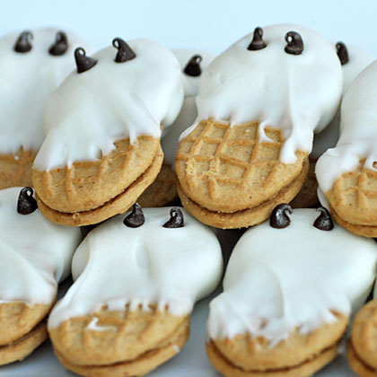 Halloween Party Ghost Cookies