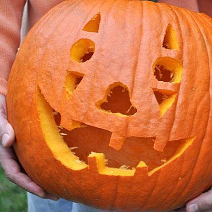 Halloween Party Pumpkin Face