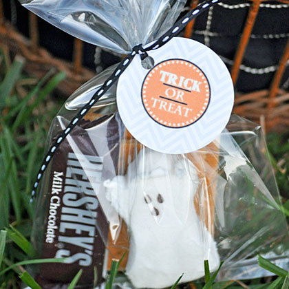 Halloween Party S'mores Gift Bag