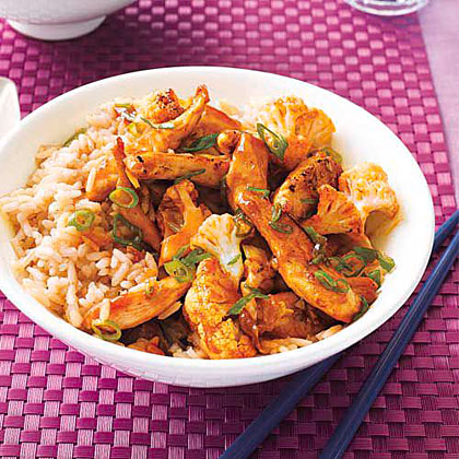 Sweet-and-Spicy Chicken Stir-Fry
