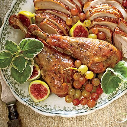 Herb-Roasted Turkey Legs