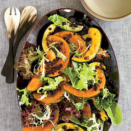 Ginger-Roasted Winter Squash