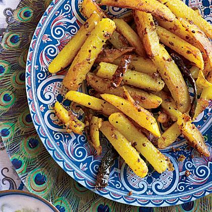 Spiced Potatoes (Aloo Bhaji)