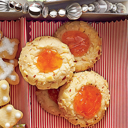 Apricot-Almond Thumbprints