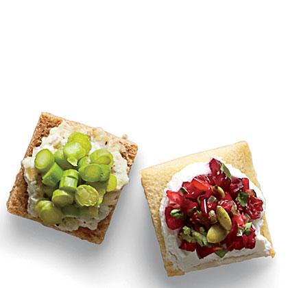 Canapé Toast Squares
