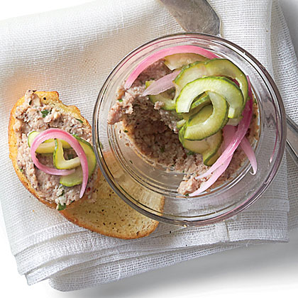 Pickled Red Onions and Cukes