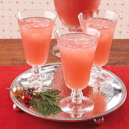 Pink Grapefruit Sparklers