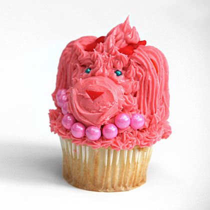 How to Make Poodle Pupcakes