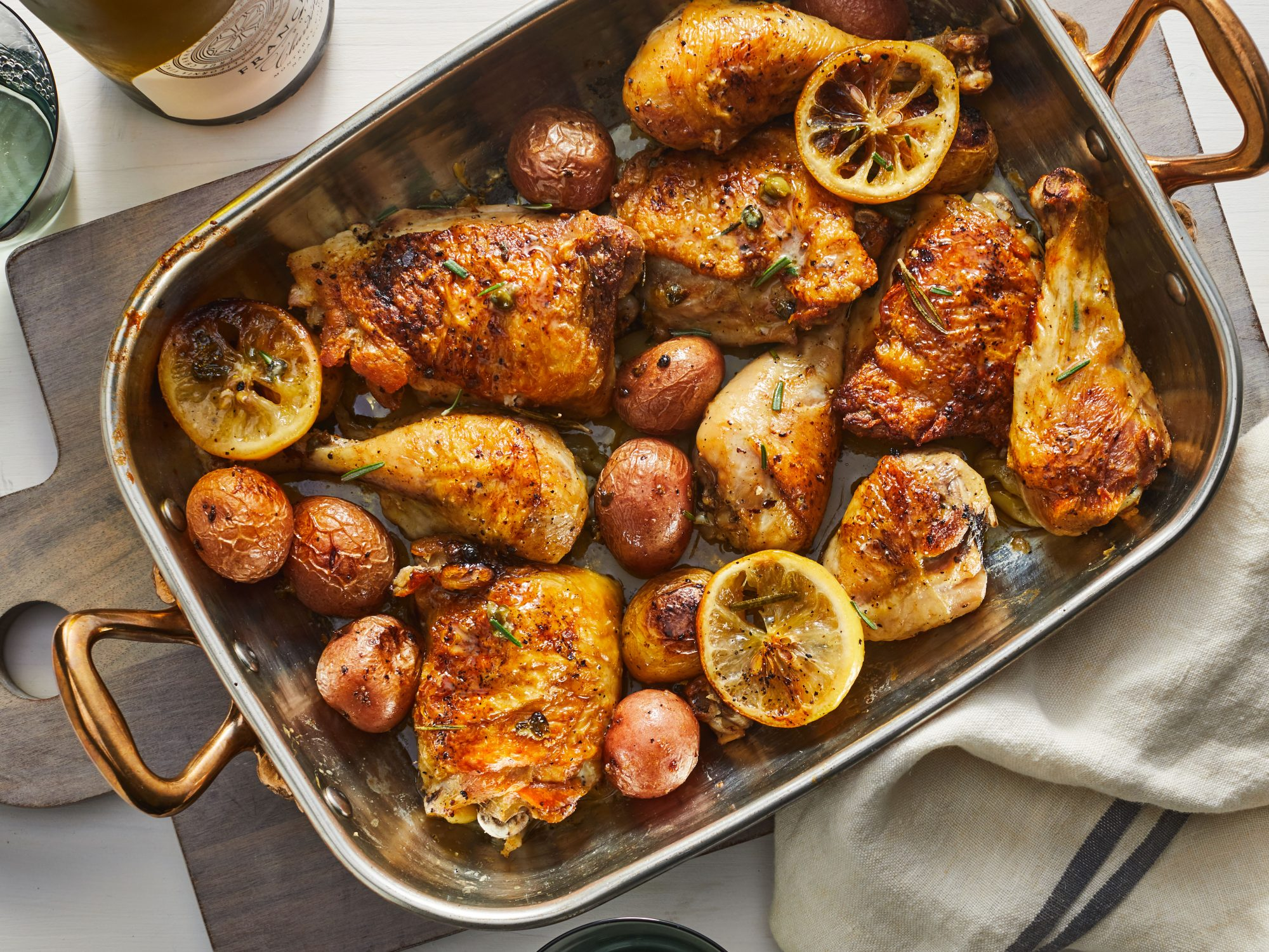 mr - Lemon-Rosemary-Garlic Chicken and Potatoes