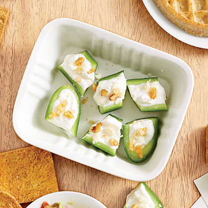Cucumber-Feta Bites