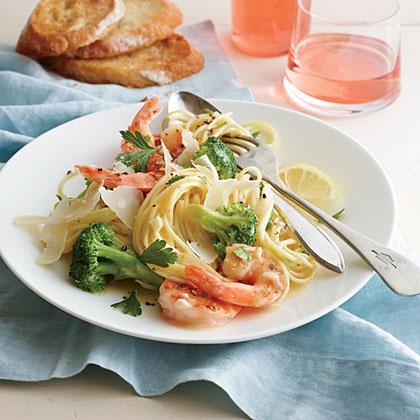 Shrimp and Broccoli Scampi