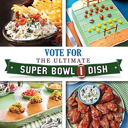 Vote For The Ultimate Super Bowl Dish