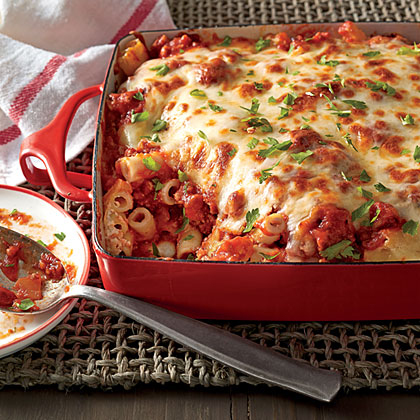 Baked Ziti with Sausage