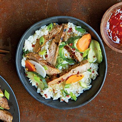 Coconut-Marinated Pork with Rice (Bai Sach Chrouk)