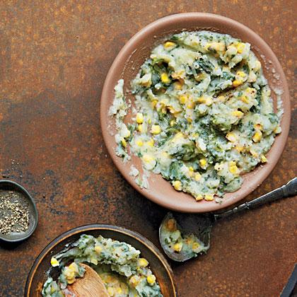 Mashed Peas and Potatoes with Corn (Irio)