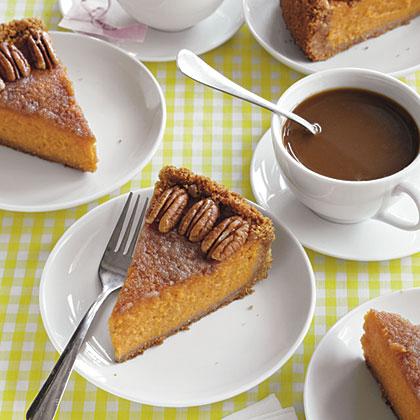 Dish's Vanilla-Bourbon Sweet Potato Pie
