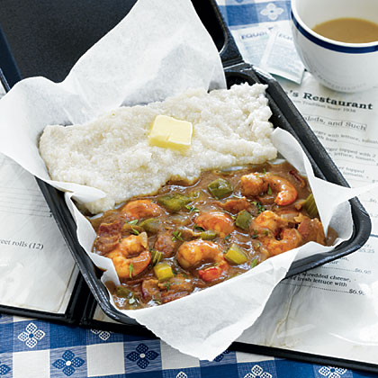 South Carolina Shrimp Gravy and Grits from Grits and Groceries