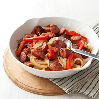 Kielbasa and Peppers