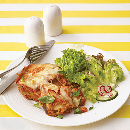 Slow-Cooker Eggplant Parmesan