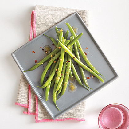 Green Beans with Lime