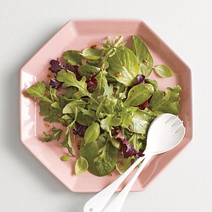 Herb Salad with Mustard Vinaigrette