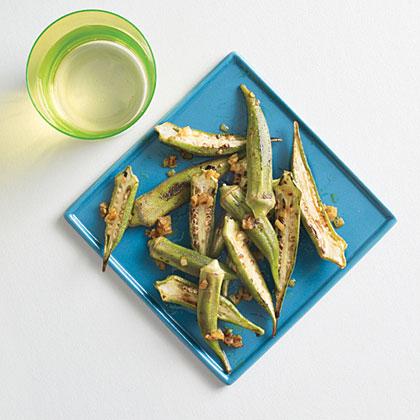 Warm-Spiced Okra