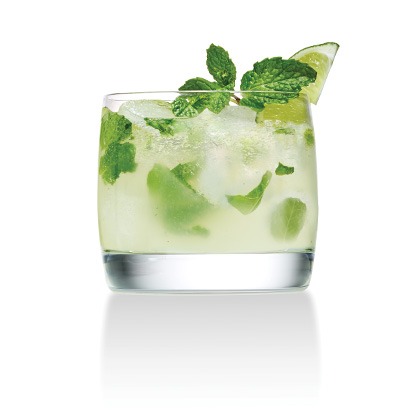Skinny-Mini Mojitos