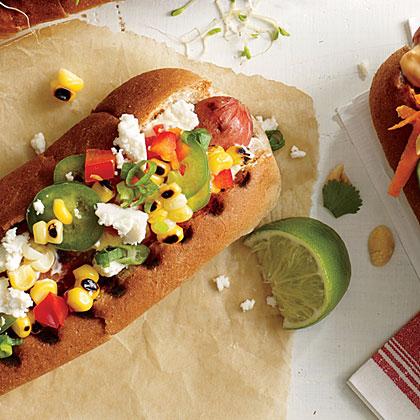 Confetti Corn Dog Hot Dog Topper
