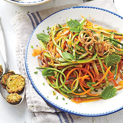 Zucchini-Carrot Salad with Catalina Dressing