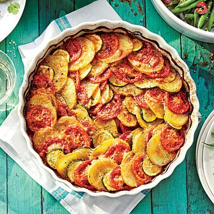 Zucchini-Potato Casserole