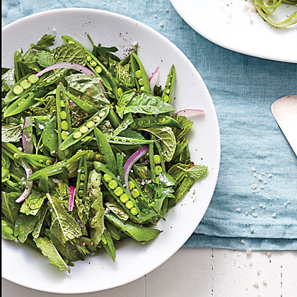Snappy Pea-and-Herb Salad