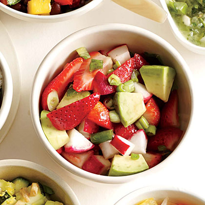Chunky Strawberry-Avocado Salsa