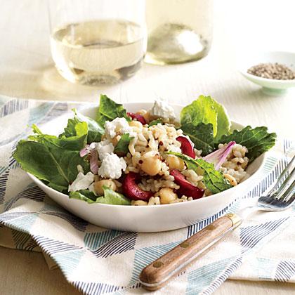 Kale, Quinoa, and Cherry Salad