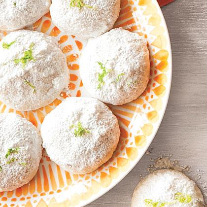 Lemon-Lime Mexican Wedding Cookies