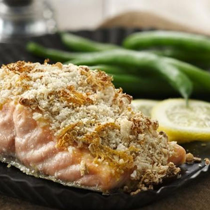 Granola Crusted Salmon