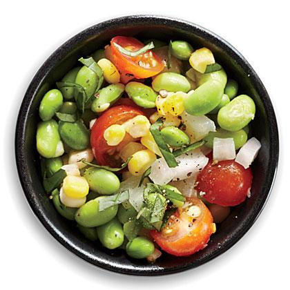 Edamame Succotash Salad