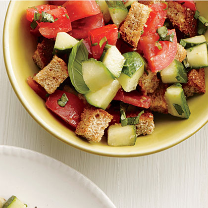 Tomato-Basil Bread Salad