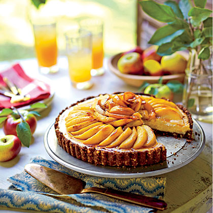 Caramel Apple Cheesecake Tart