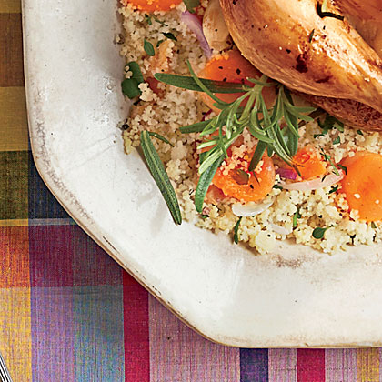 Parsley Couscous with Apricots