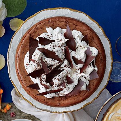 Decadent Chocolate-Espresso Cheesecake