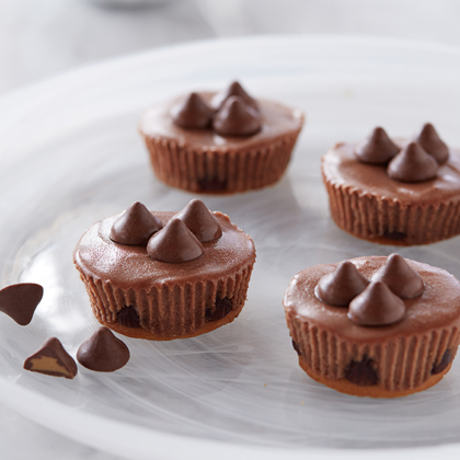 Mini Chocolate Cheesecakes with Mint Filled DelightFulls™