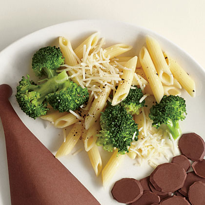 Broccoli and Penne with Asiago