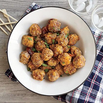 Cheesy Sausage Balls