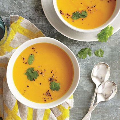 Coconut-Red Curry Squash Soup