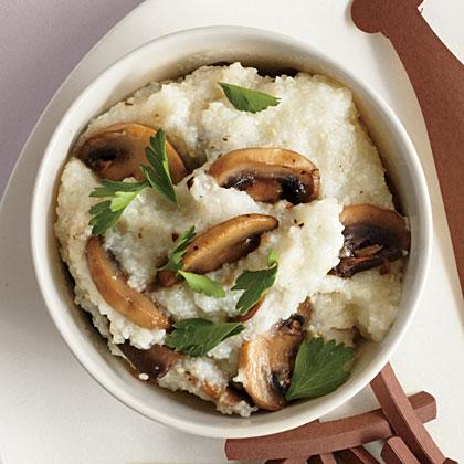 Mushroom Grits