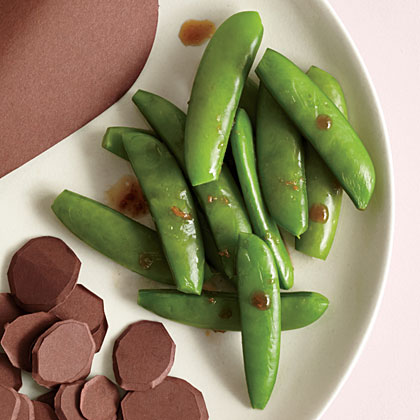 Sugar Snap Peas with Ginger and Soy