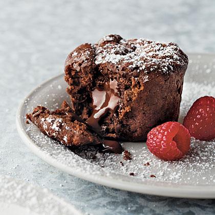Chocolate Java Lava Cakes