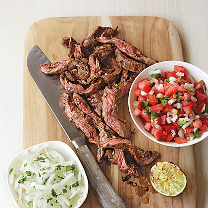 Ancho-Rubbed Beef Flap