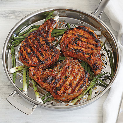 Korean-Inspired Pork Chops