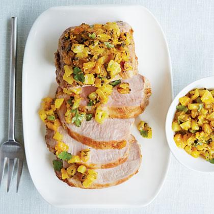Pork Loin Pique